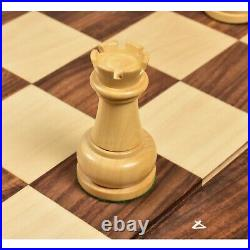 1960's Soviet Championship Tal Chess Pieces Only Set Golden Rosewood 4 King