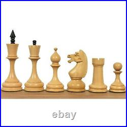 4.5 Circa 1960's Soviet Russian Chess Pieces only Set-Double Weighted Boxwood
