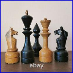 Fastship Club Very big Chess set Wooden USSR vintage russian soviet antique