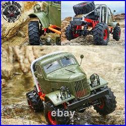 Kingkong RC 1/12th Q157 Mud Monster 4x4 Soviet Truck withMetal Chassis KIT Set