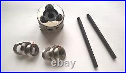 Lathe Thread Rolling Head M4-M6 + 3 SETS Rollers pitch 0.7 0.8 1mm USSR