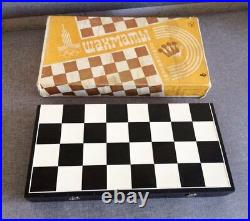 Moscow Olympics 1980 soviet chess set game vintage new Minsk Belorus USSR made