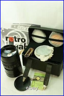 NEW! 1980 year of release! Full set! USSR lens Reflex mirror MTO-1000AM 10/1000