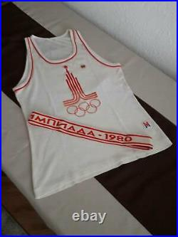 Olympic Torch 100% Original Ussr Set 1980 Summer Olympic Games Moscow