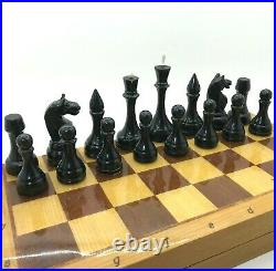RARE Soviet Grossmeister Chess Set 1960 Russian Vintage USSR Antique Tournament