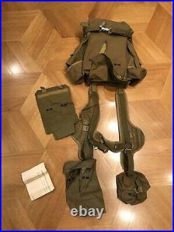 USSR RD-54 Afghan war Backpack Original 1988 Mint Full Set with Pouches
