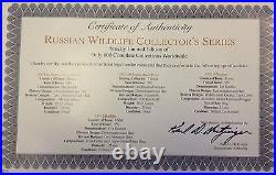 USSR Russia 1991-1993 Set 9 Coins Russian Wildlife Collection NGC PF66-69