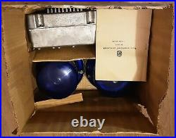 Vintage Flasher Beacon (blue) pulse signal USSR (full set) NEW, old stock
