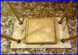 Vintage Tournament Chess Table+Set Of tournament Heavy chess pieces of the USSR