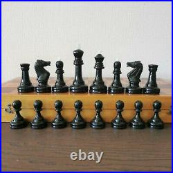 Weighted soviet grossmeister chess set Russia Vintage USSR antique tournament